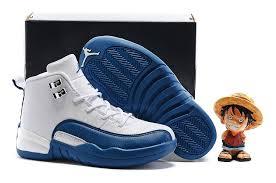 kid shoes kids air 12 shoes blue white 75613 55