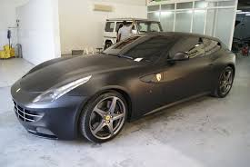 gold and black ferrari ferrari ff black matte foilacar