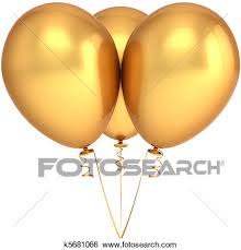 drawings of abstract golden birthday card background k10838394