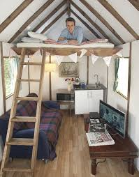 one room home tiny house all in one room self build houses pinterest
