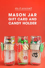 unique gift cards make your own jar gift card holders gift card