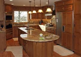 modern cabinetry with panel appliances also grey granite