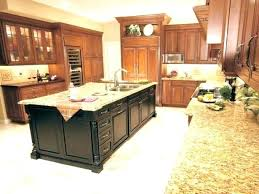 Kitchen Island Black Granite Top Black Kitchen Island Hermelin Me