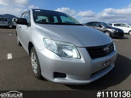 toyota japan used toyota corolla axio from japan car exporter 1110136 giveucar