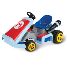 motorized car super mario kart motorized ride on vehicle the green head