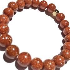 energy bead bracelet images Brown sandstone beaded bracelet 8mm choose your charm custom jpg