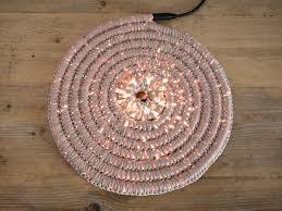 tappeti fai da te come realizzare un tappeto crochet con illuminazione led