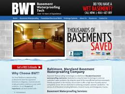 Basement Waterproofing Maryland by Basement Waterproofing Tech Advantage Internet Marketing