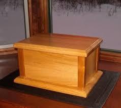 free wood cremation urn box plans build it pinterest