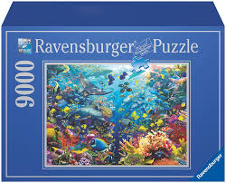 underwater paradise 9000pc puzzle the granville island toy company