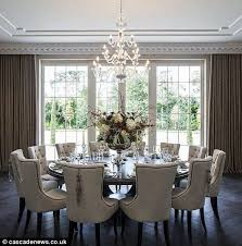 Large Formal Dining Room Tables The For Neutrals In Decorating Neutral Decorating And