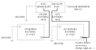 140 amp 12 volt isolator dual battery kit system 12v ebay