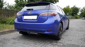 lexus ct200 lexus ct200 h incarstyle sportauspuff sportexhaust tuning tte