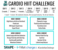 Challenge Rate The 30 Day Cardio Hiit Challenge That S Guaranteed To Boost Your