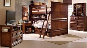 Over The Bed Bookshelf Previn Cherry Full Over Full Bookcase Bunk Beds