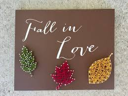 Where To Buy Fall Decorations - fall in love sign fall decor fall decorations fall in love