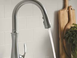 kitchen kohler pull out kitchen faucet and 51 kohler karbon pull