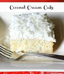 coconut cream cake melissassouthernstylekitchen com