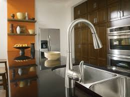 arbor kitchen faucet moen 7594csl arbor one handle high arc pulldown kitchen faucet