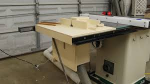 table saw router combo adjustable router table fence jays custom creations