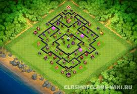 coc layout builder th8 th8 hybrid base layout 728 clash of clans wiki