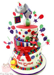 carnival themed cake toppers best birthday cakes ideas on circus