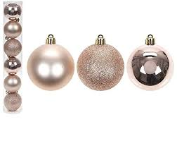 18 x gold balls ornaments tree