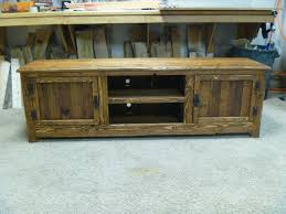 70 rustic pallet tv stand cabinet sideboard reclaimed