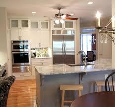 Two Tone Kitchen Island Kitchen Design Ideas Remodel Projects U0026 Photos