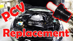 nissan maxima idle relearn how to replace a pcv valve on your vq35 in about a minute 350z