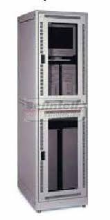 Server Rack Cabinet Rack Cabinet Dual Co Location 2 Compartment 24 Wide X 36 Deep X 84