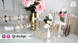 bracelet necklace organizer images Diy necklace bracelet holder ann style dma homes 53263 jpg