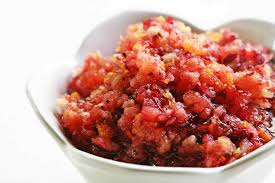 cranberry apple sauce thanksgiving cranberry relish recipe simplyrecipes com