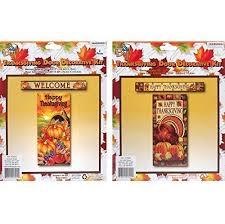 grateful gifts thanksgiving door cover banner set assorted