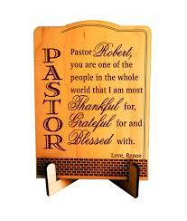 pastor appreciation gift pastor thanksgiving gift custom