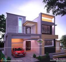 Kerala Home Design Floor Plan Fascinating Sq Ft Modern Contemporary House Kerala Home Design