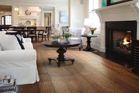 flooring traditional family room design with pedestal coffee
