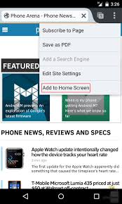 how to add to a on android how to add website links to your android home screen