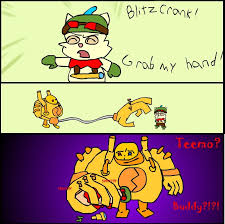 Memes De Lol - grab my meme blitzcrank by tomanator490 on deviantart
