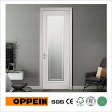 Modern Bathroom Door Oppein Modern Design Interior Wooden Door Bathroom Door With Glass