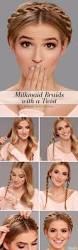 20 cute easy milkmaid braid for long hair u0026 medium hair