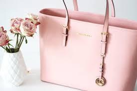 light pink michael kors handbag dream closet on twitter light pink michael kors bag http