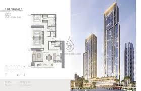 Metropolitan Condo Floor Plan 3 Bedroom Type B Unit 9 Floor Plan
