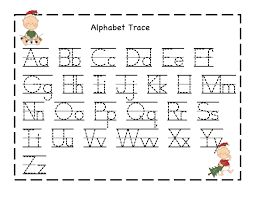 Printable Alphabet Tracing Letters Free | free alphabet worksheets for the beginners kiddo shelter