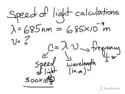 what is the speed of light speed of light calculations youtube