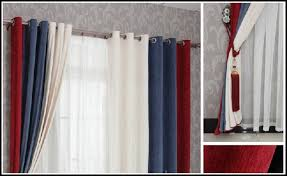Blue And Striped Curtains White Blue Striped Curtains Curtains Home Design Ideas