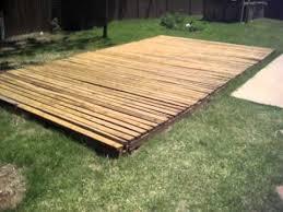 backyard basketball court flooring basketball court 20 u0027 x 13 u0027 made from treated reused wood decking