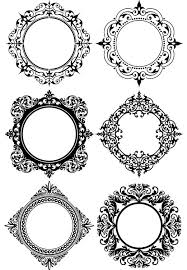 circle ornament frames search results free vector graphics and