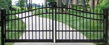 iron gates fort worth df fence company wrought iron repairs