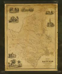 Map Of Salem Massachusetts by A Rare And Wonderful Map Of Danvers Mass Rare U0026 Antique Maps